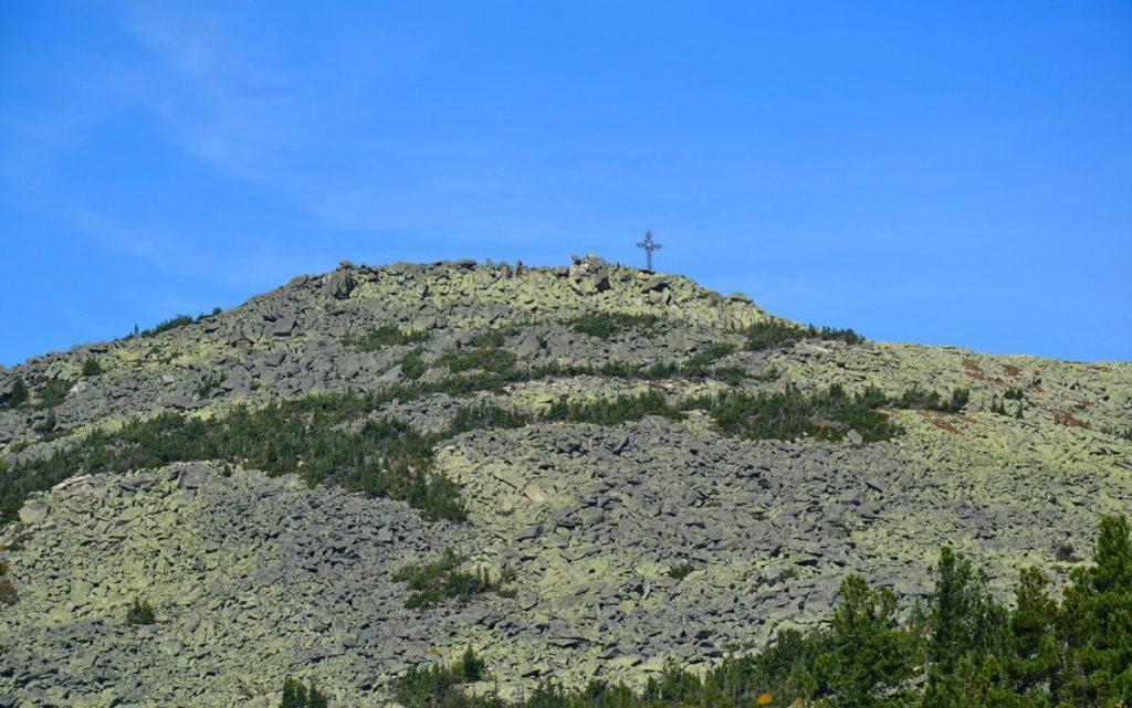 Поклонный крест гора Курган