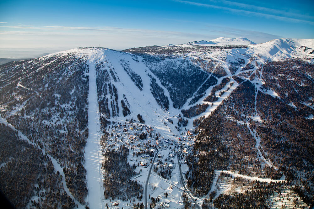 Горно-лыжный курорт Шерегеш
