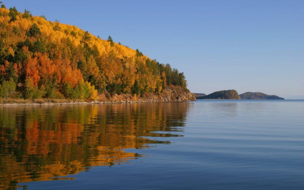 Байкал осень