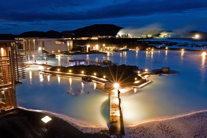 Голубая лагуна Исландия