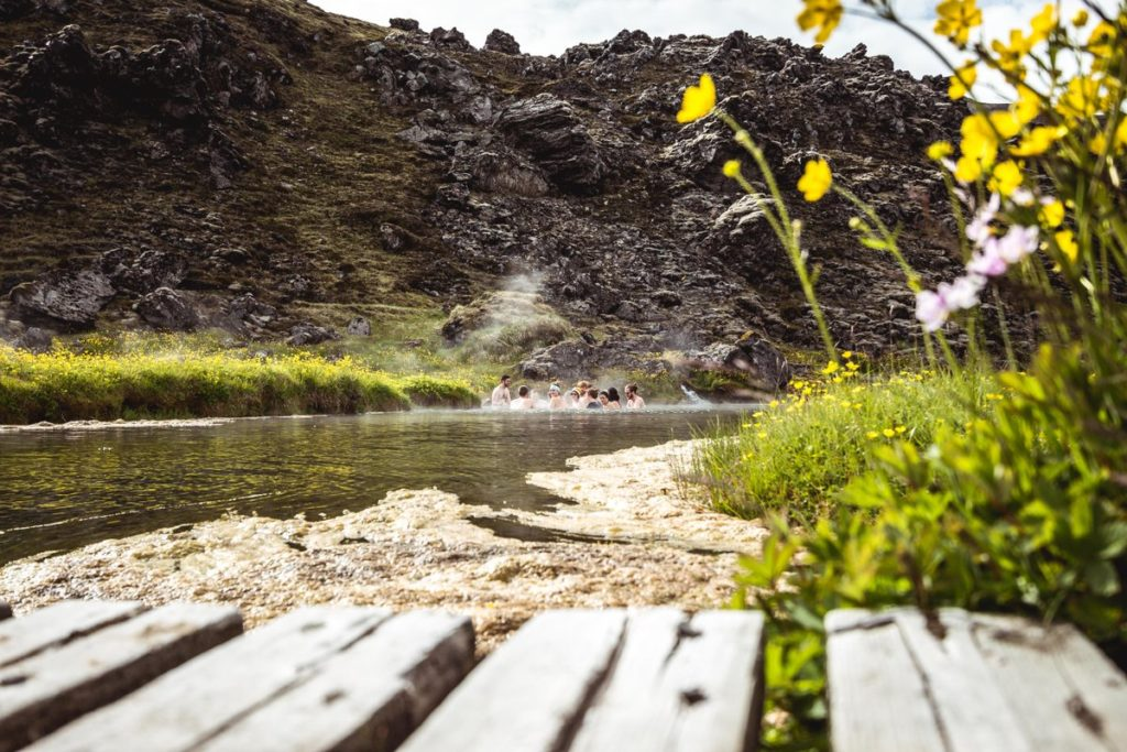 ландманналаугар исландия