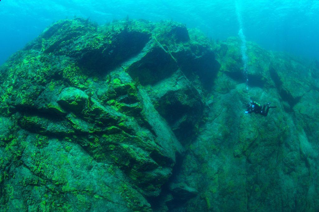 Под водой Байкал
