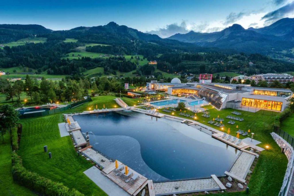 Австрия термальные источники