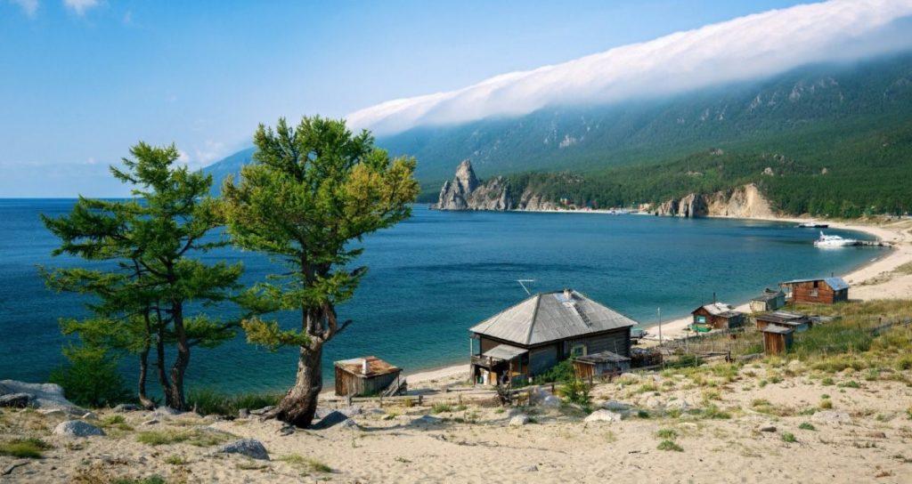 Байкал пляж