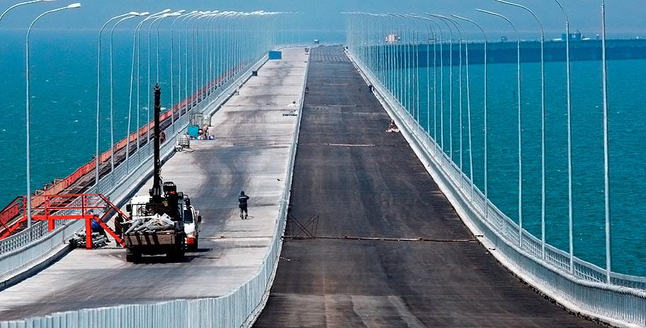 Крымский мост автодорога