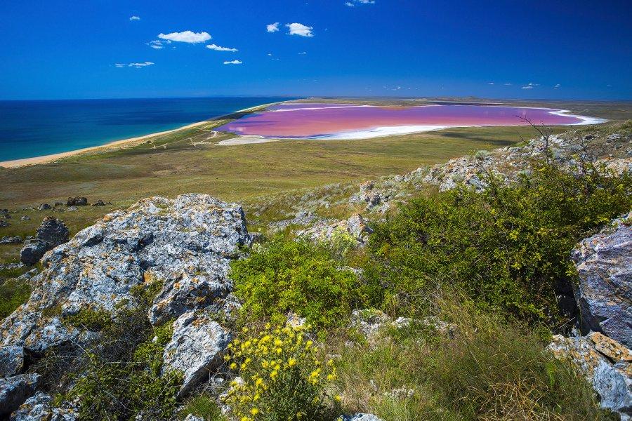 Кояшское озеро Крым