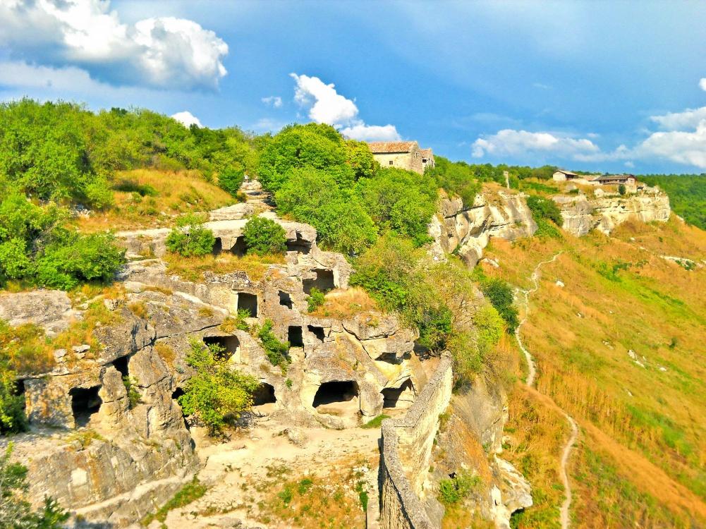 Пещерные города Крым