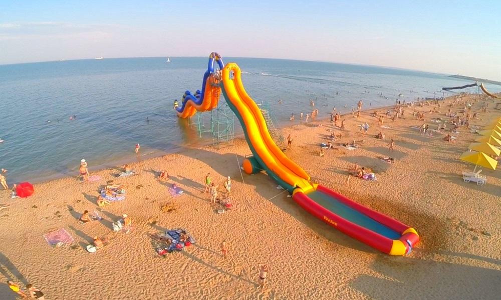 Пляж Керчи Крым