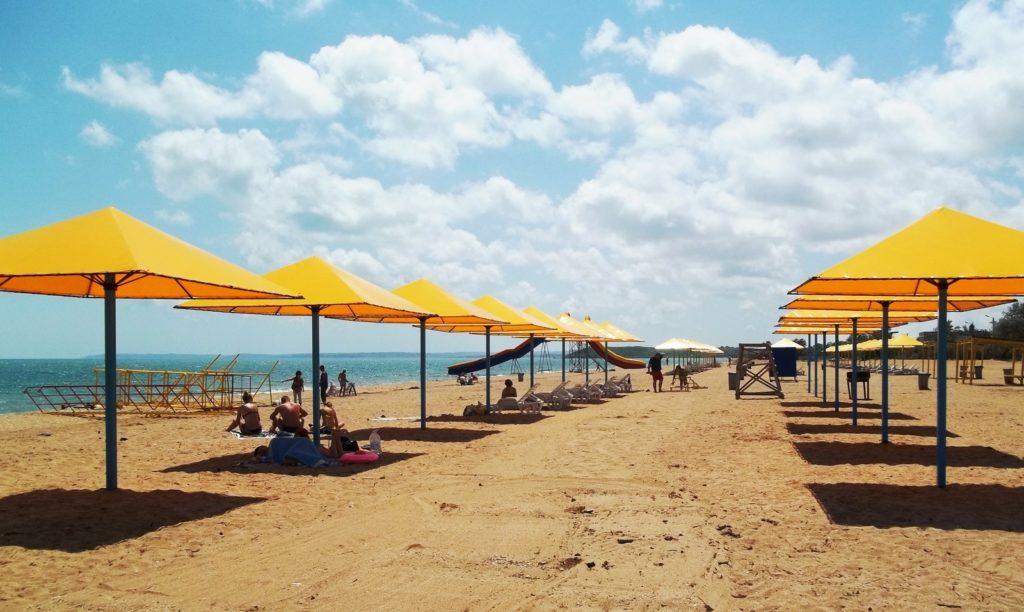 Пляж Сандали Крым