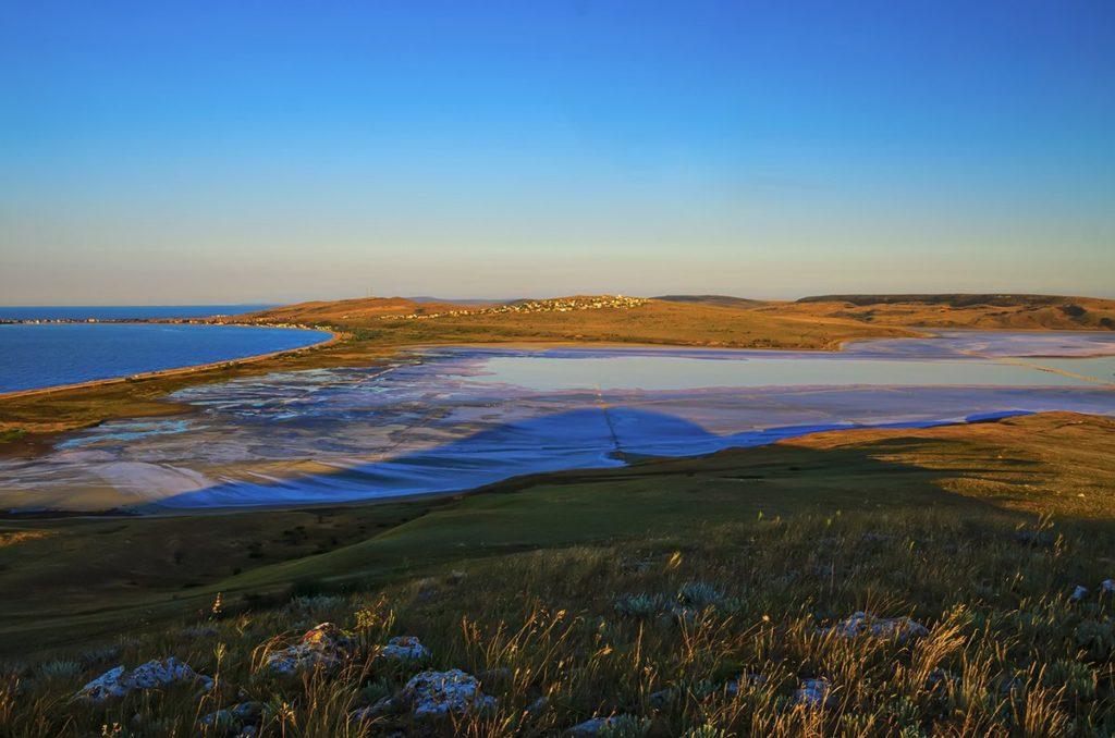 Солёное озеро Чокрак