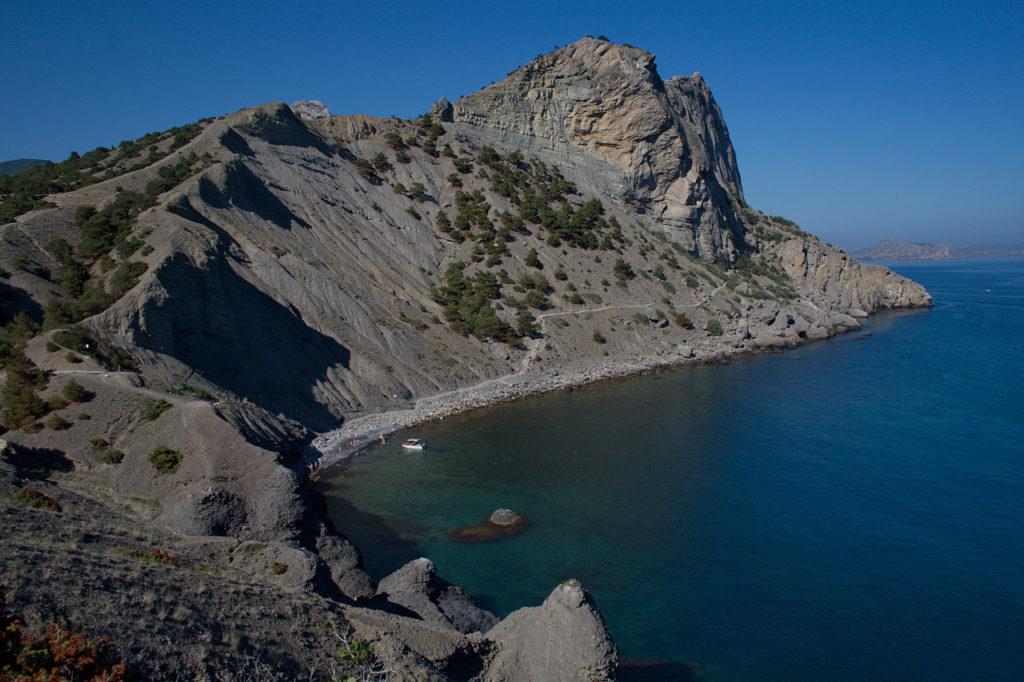 Синяя бухта Крым