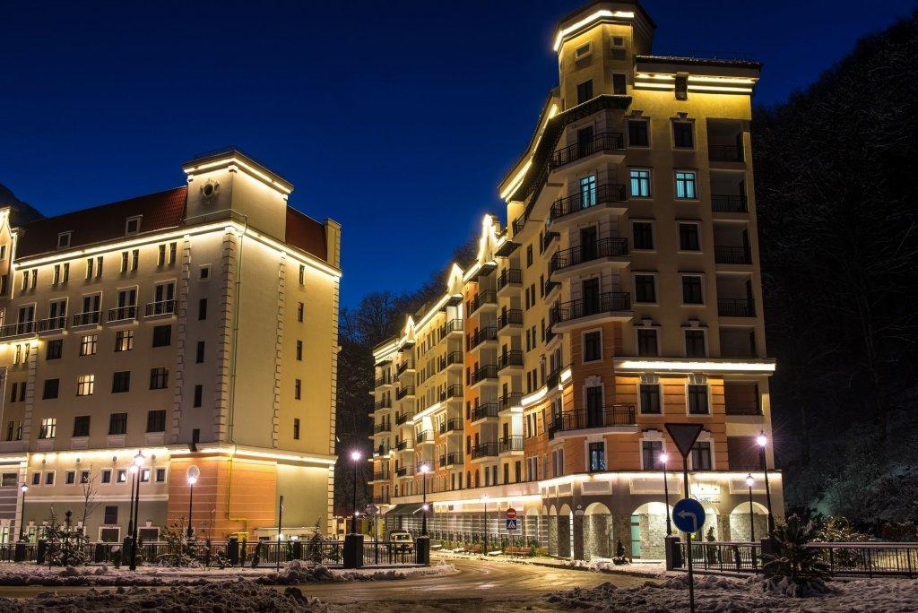Апарт-отель VALSET от AZIMUT Роза Хутор