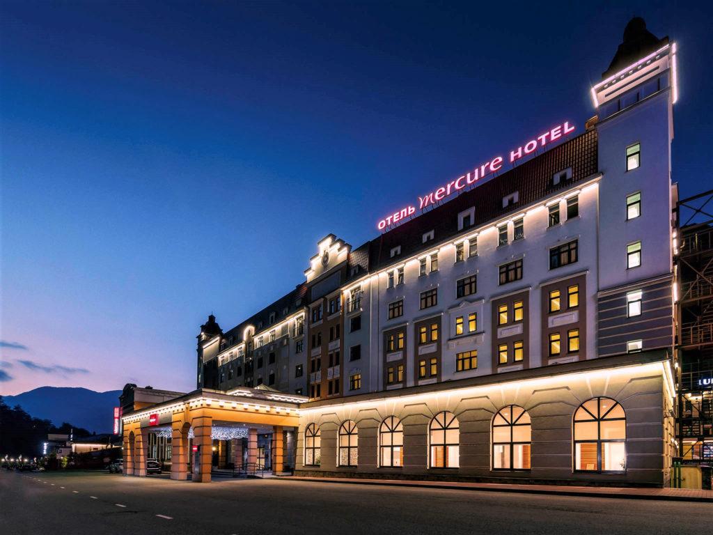 Отель MERCURE Сочи