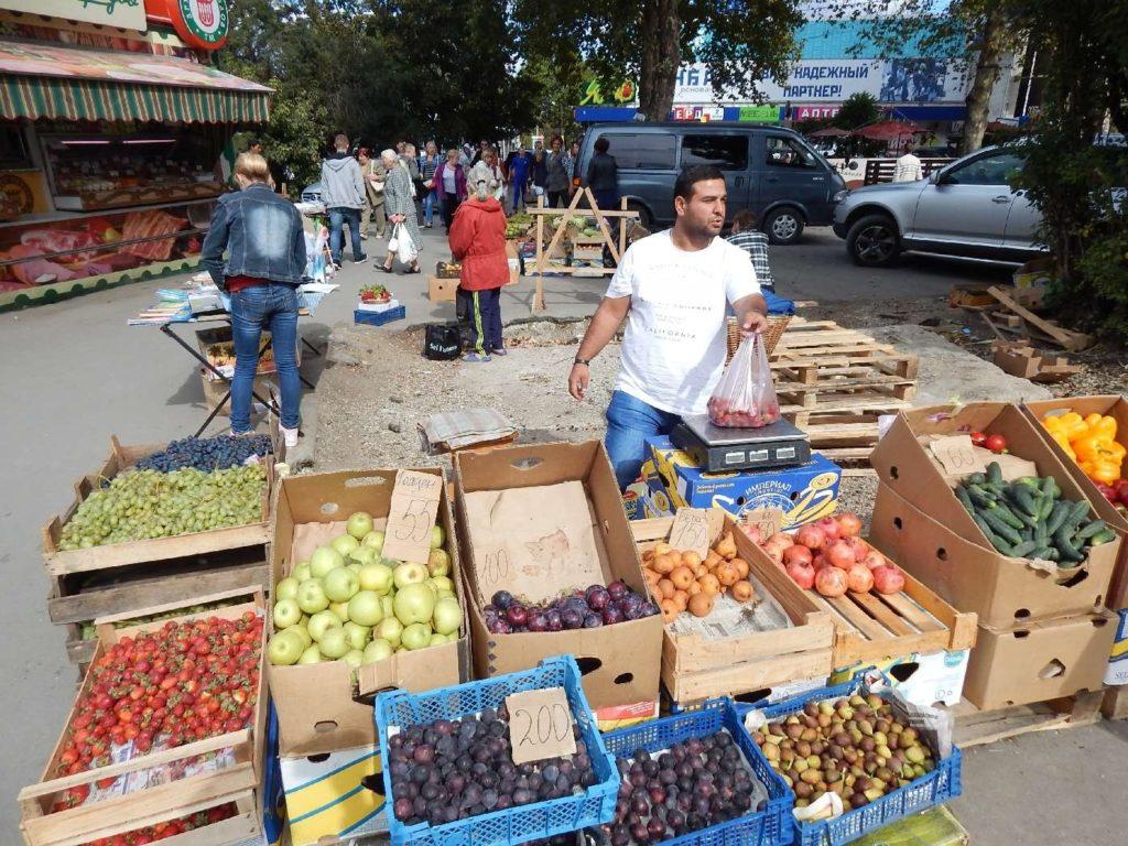 Крым торговля