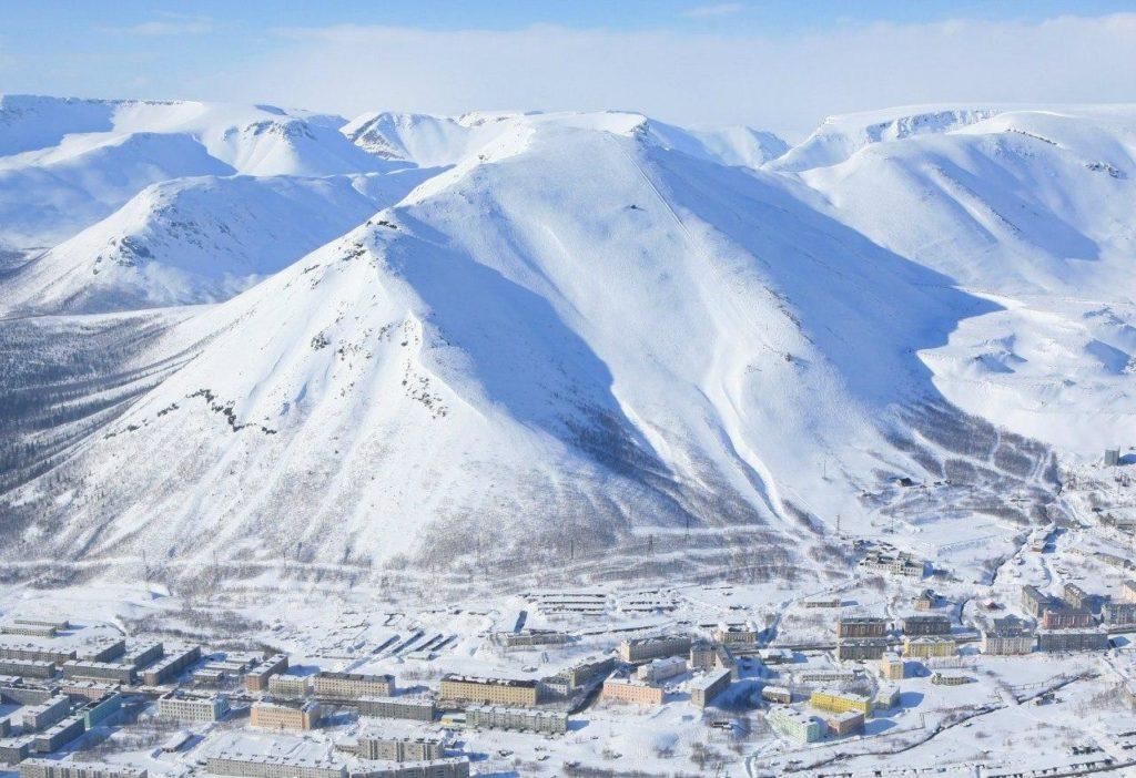 Кировск горнолыжный курорт Хибины