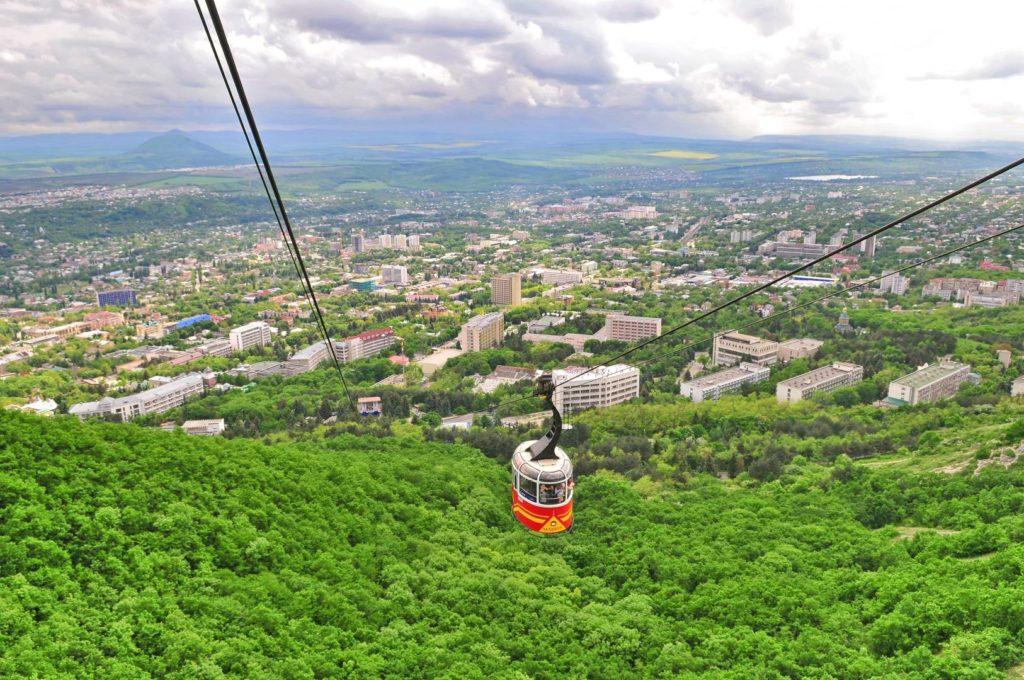 Канатная дорога в Пятигорске