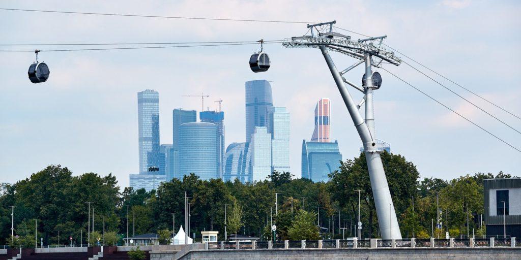 Канатная дорога России