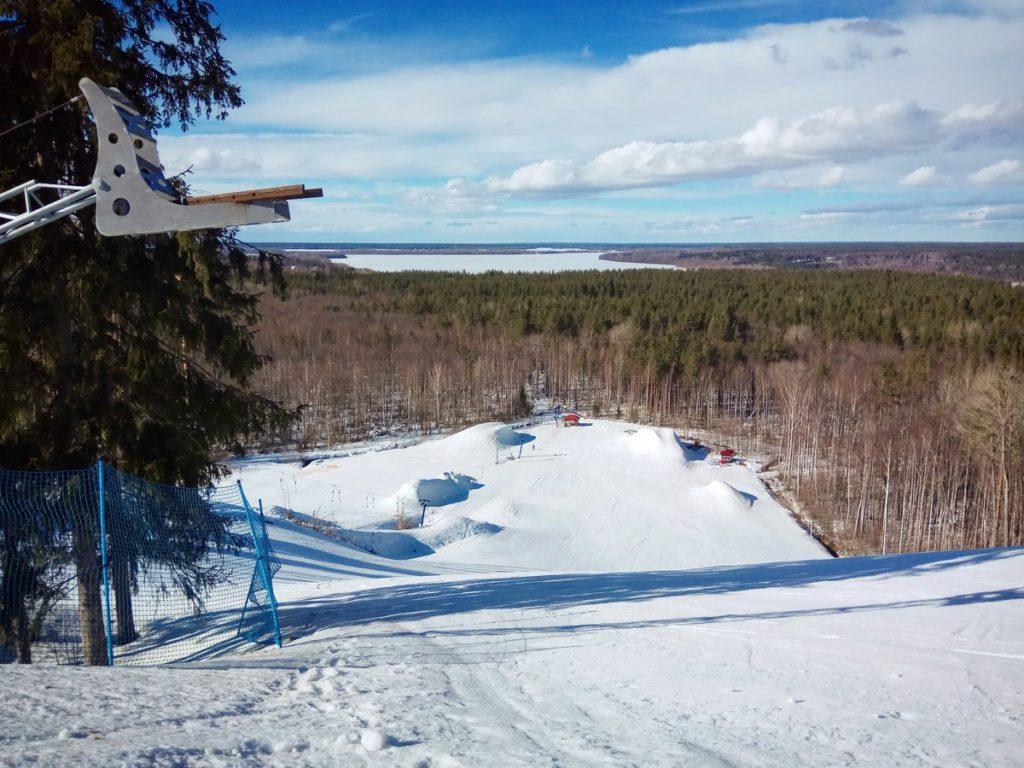 Горнолыжные курорты Ленинградской области